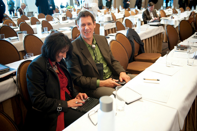 """October 15, 2009, Seattle. 170 leaders from technology, business, science, education, policy, and media sectors met in a new 12-hour conference model created by the team at Strategic News Service, producer of the annual Future in Review (FiRe) conference since 2003. The purpose of the event, called FiReGlobal : West Coast, is to bring global and local """"thought leaders"""" together to solve problems of broad and shared impact. Topics included high-tech industry forecasting, alternative energy, broadband and communications technologies, environmental issues (focused on ocean ecology), healthcare, education, public policy, and the future of local and global economies. This was the first of a planned international FiReGlobal series focusing on regional issues with global implications."""