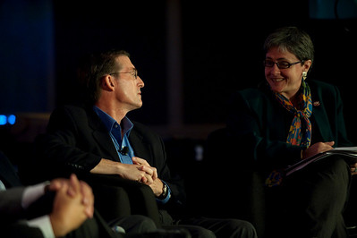 """""""How Can the Northwest Become Energy-Independent?"""": Jud Virden, CTO, Energy and Environment Directorate, Pacific Northwest National Laboratory; and host Sarah van Gelder, Co-Founder and Executive Editor, YES! Magazine"""