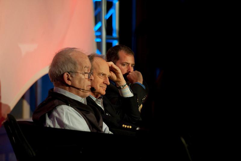 """Ocean Pollution, New Data"": (L-R) Roger Payne, Founder and President, Ocean Alliance; Denis Hayes, President and CEO, Bullitt Foundation; and Sen. Kevin Ranker, 40th Legislative District, Washington State Senate"