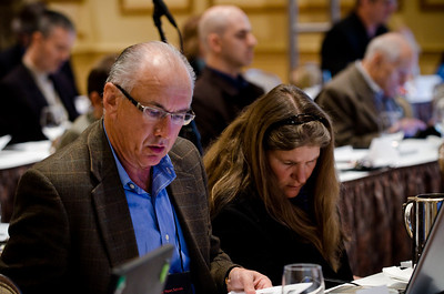 Sig Hutchinson, president of Sig Hutchinson Communications; and  Brenda Cooper: Writer, Futurist, and CIO of the City of Kirkland, Washington.  Over 130 leaders in the fields of computer and Internet technology, telecommunications, and marine sciences gathered at the Fairmont Hotel in Seattle for the 2nd FiRe Global : West Coast, a conference produced by Strategic News Service (SNS) and designed to reach across disciplines to encourage technology-based solutions to a range of economic and social issues.   SNS founder Mark Anderson, publisher of the SNS newsletter and a highly respected tech and economy forecaster and opinion leader, is the chairman of the daylong event and the keynote speaker. Panel discussions and presentations at FGWC 2011 featured broadband implementation, advances in computing hardware, global warming, cloud computing, Net neutrality, the solutions-based FiRe trademark CTO Design Challenge, sustainability, healthcare solutions implementation, international economic trends, the health of Minke whale populations, and more.