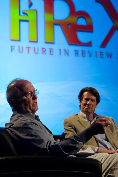 "James Balog interviews Roger Payne, Founder/President, Ocean Alliance, in ""Ocean Toxins: Discoveries and Remedies.""  May 22-25, 2012: At the Montage in Laguna Beach, CA, 200 thought leaders - high technology engineers and executives, entrepreneurs, scientists, and media professionals - gathered for 3 days to participate in FiRe X, the 10th annual Future in Review conference, presented by the Strategic News Service and led by SNS founder and technology visionary Mark Anderson. Interviews, panel discussions, and informal conversations ranged from IP protection to CO2 and climate change, new healthcare paradigms, global economics, ocean toxins, robotics, documentary filmmaking,  medical diagnostics, technology solutions for social issues, global economics, mobile computing, and tech solutions to human trafficking and aging with dignity."