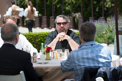 Mark Anderson, FiRe Chair and CEO of the Strategic News Service.  May 22-25, 2012: At the Montage in Laguna Beach, CA, 200 thought leaders - high technology engineers and executives, entrepreneurs, scientists, and media professionals - gathered for 3 days to participate in FiRe X, the 10th annual Future in Review conference, presented by the Strategic News Service and led by SNS founder and technology visionary Mark Anderson. Interviews, panel discussions, and informal conversations ranged from IP protection to CO2 and climate change, new healthcare paradigms, global economics, ocean toxins, robotics, documentary filmmaking,  medical diagnostics, technology solutions for social issues, global economics, mobile computing, and tech solutions to human trafficking and aging with dignity.