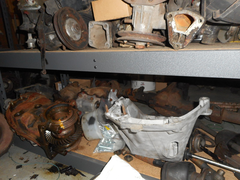 Water pumps, Transmissions, axle shafts.