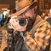 Brian Page, husband of Cindy Page, one of the weavers and local photographer wandered the show taking pictures