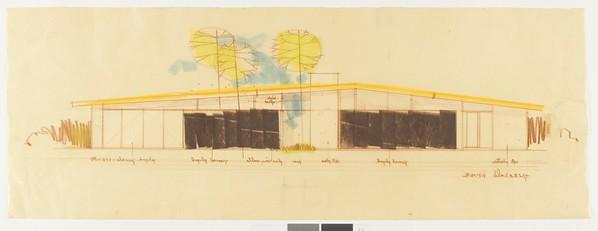 Drawing, Edwards Air Force Base, 1976