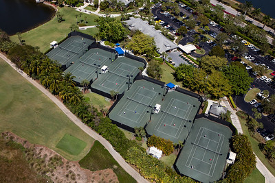 Fiddlers Creek Tennis Aerial