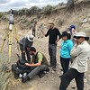 """Participants run a Riegl VZ-1000 scanner with guidance from Chris Crosby (UNAVCO). North Boulder Creek near Cardwell, Montana.<br /> From short course held at Indiana University Geologic Field Station August 16-19 2016. Short course title: Using TLS and Structure from Motion (SfM) Photogrammetry in Undergraduate Field Education. <a href=""""http://www.unavco.org/education/advancing-geodetic-skills/short-courses/2016/field-education/field-education.html"""">http://www.unavco.org/education/advancing-geodetic-skills/short-courses/2016/field-education/field-education.html</a>"""