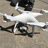 """Example of DJI Phantom UAS that can be used for SfM surveys.<br /> From short course held at Indiana University Geologic Field Station August 16-19 2016. Short course title: Using TLS and Structure from Motion (SfM) Photogrammetry in Undergraduate Field Education. <a href=""""http://www.unavco.org/education/advancing-geodetic-skills/short-courses/2016/field-education/field-education.html"""">http://www.unavco.org/education/advancing-geodetic-skills/short-courses/2016/field-education/field-education.html</a>"""