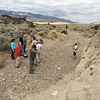 """Participants set up overlapping surveys using both TLS (Riegl VZ-1000) and SfM methods. North Boulder Creek near Cardwell, Montana.<br /> From short course held at Indiana University Geologic Field Station August 16-19 2016. Short course title: Using TLS and Structure from Motion (SfM) Photogrammetry in Undergraduate Field Education. <a href=""""http://www.unavco.org/education/advancing-geodetic-skills/short-courses/2016/field-education/field-education.html"""">http://www.unavco.org/education/advancing-geodetic-skills/short-courses/2016/field-education/field-education.html</a>"""