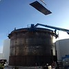 New Tank Construction in Brandon, MB Structurally supported roof.Built in 2012