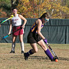 Montachusett Regional Vocational Technical School field hockey played Fitchburg High School on Thursday afternoon, Oct. 24, 2019. Monty Tech's Frankie Alley. SENTINEL & ENTERPRISE/JOHN LOVE