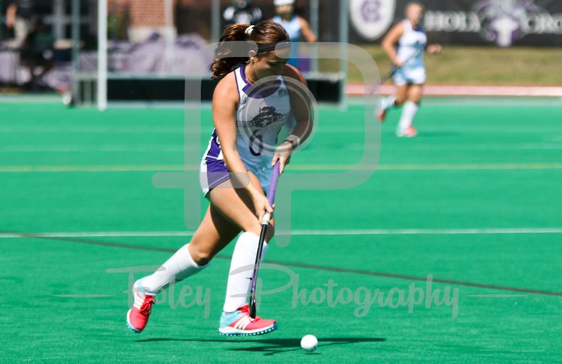 Holy Cross midfielder Emily Loprete (6)