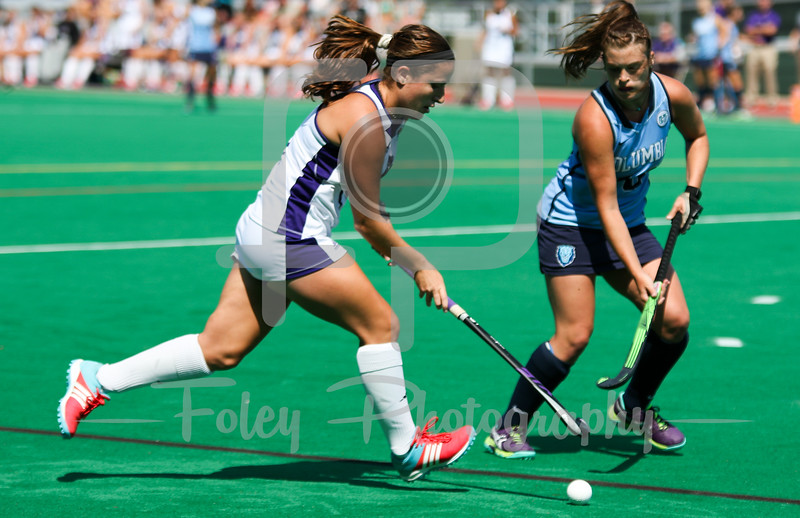Holy Cross midfielder Emily Loprete (6)