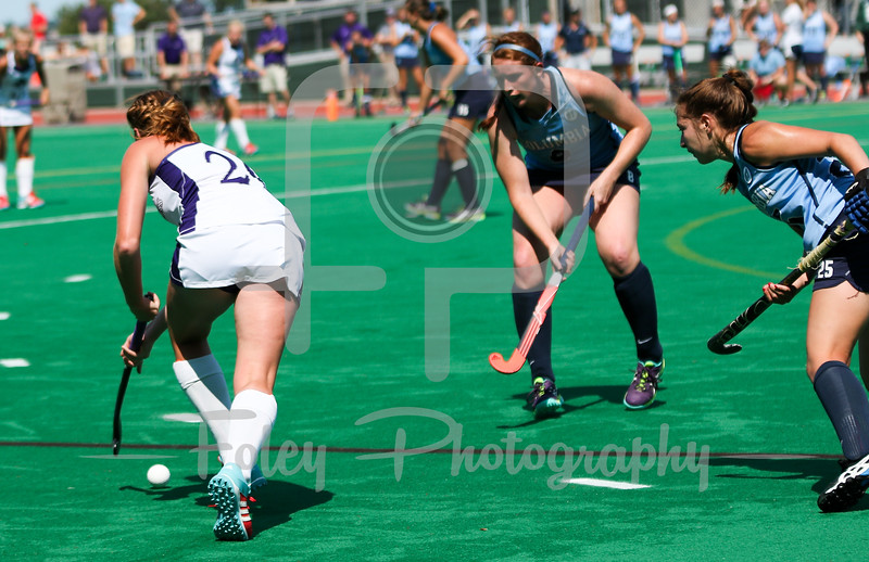 Holy Cross midfielder Madeline Alderfer (26)