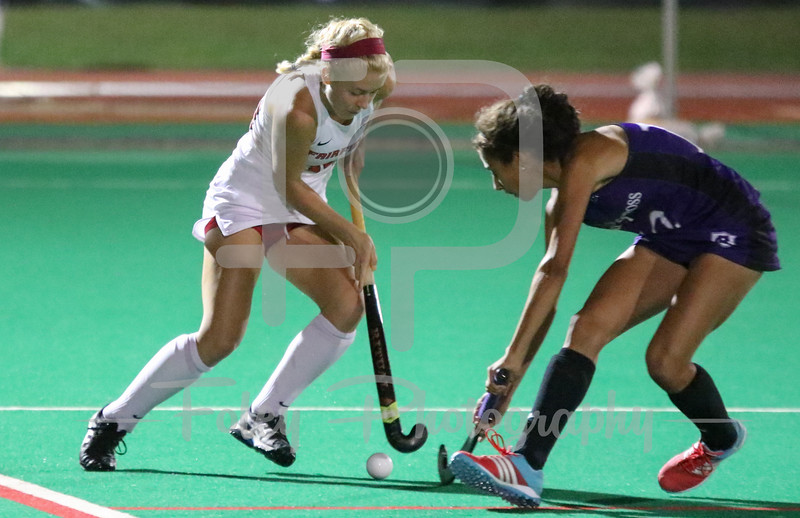 Holy Cross fullback Philomena Fitzgerald (12) Fairfield player