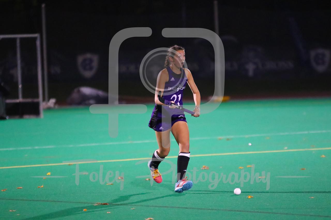 Holy Cross midfielder Rae Caliento (21)