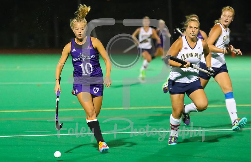 Holy Cross midfielder Lauren Sutherland (10)
