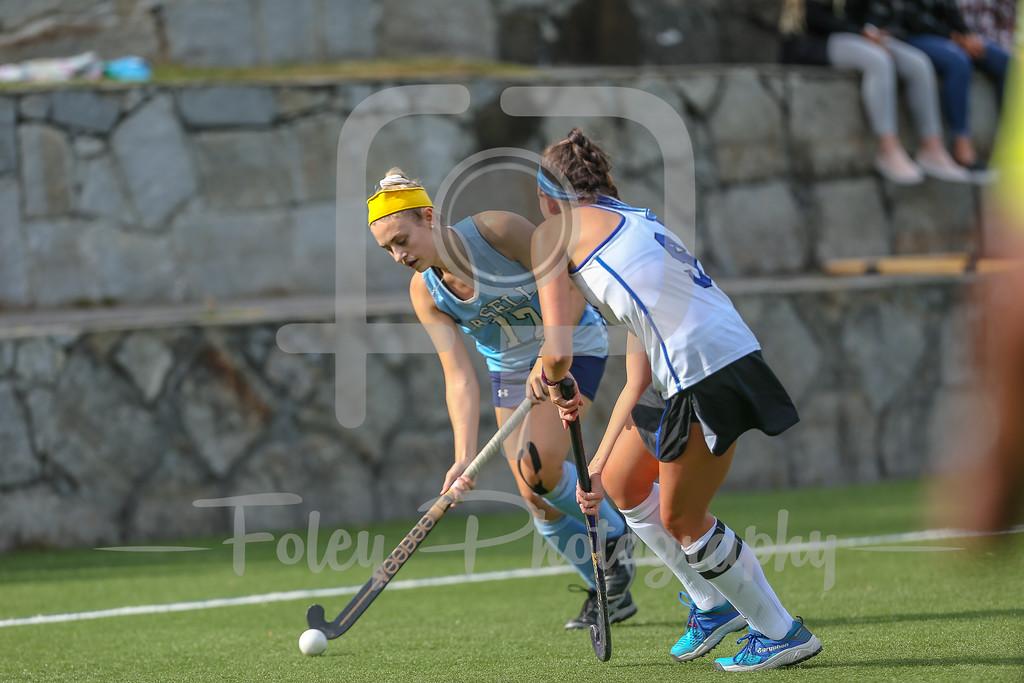 LaSell College Lasers Grace Duguay (17) Becker College Hawks Jocelyn Lebel (9)