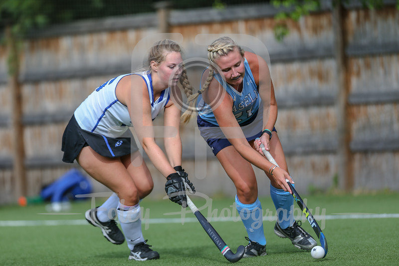 LaSell College Lasers Nikki Pignone (21) Becker College Hawks Samantha Carter (16)