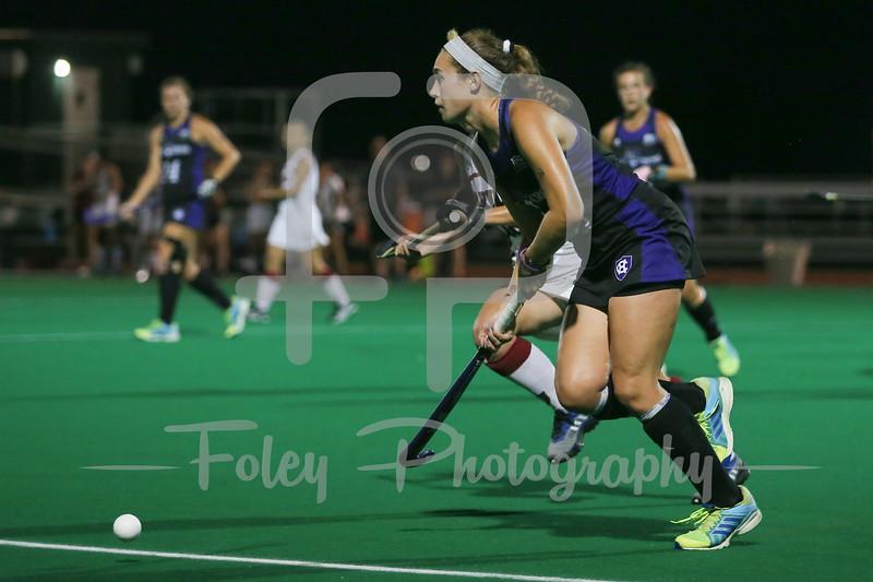 Holy Cross Crusaders midfielder Emily Devine (10)