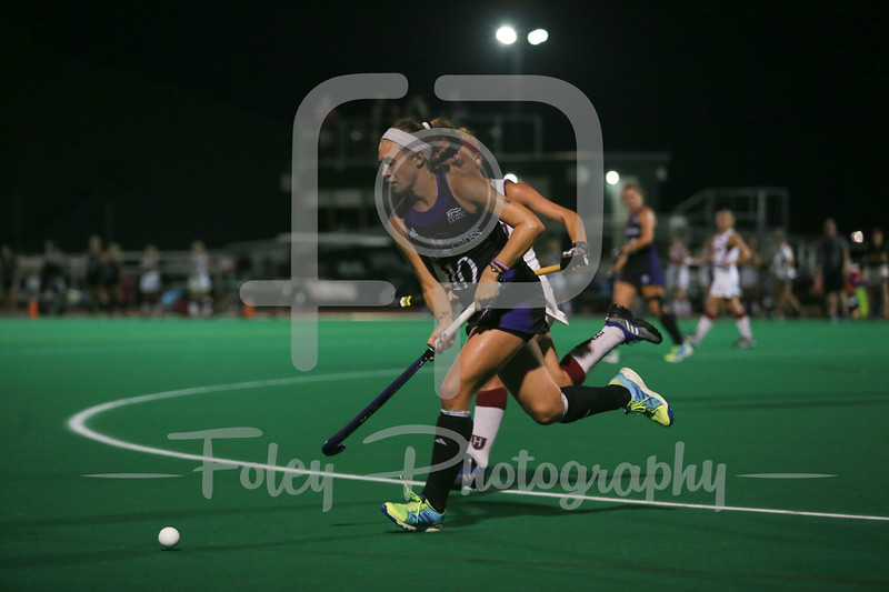 Holy Cross Crusaders midfielder Emily Devine (10)