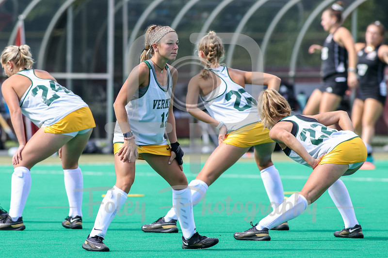 Sep. 03, 2021; Amherst, Massachusetts, USA;  during a non conference matchup between Vermont and UMass. The Minutewomen won the game 3-1 over the Catamounts at Gladchuk Field. Photo by Foley-Photography.