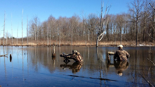 Tinker's Creek State Nature Preserve, photographing waterfowl with my friend Dan Behm