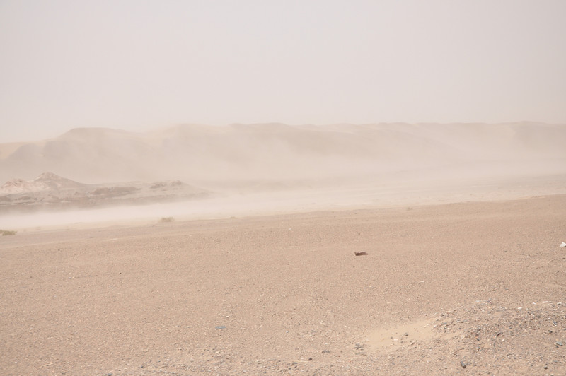 Another shot of the sandstorm...