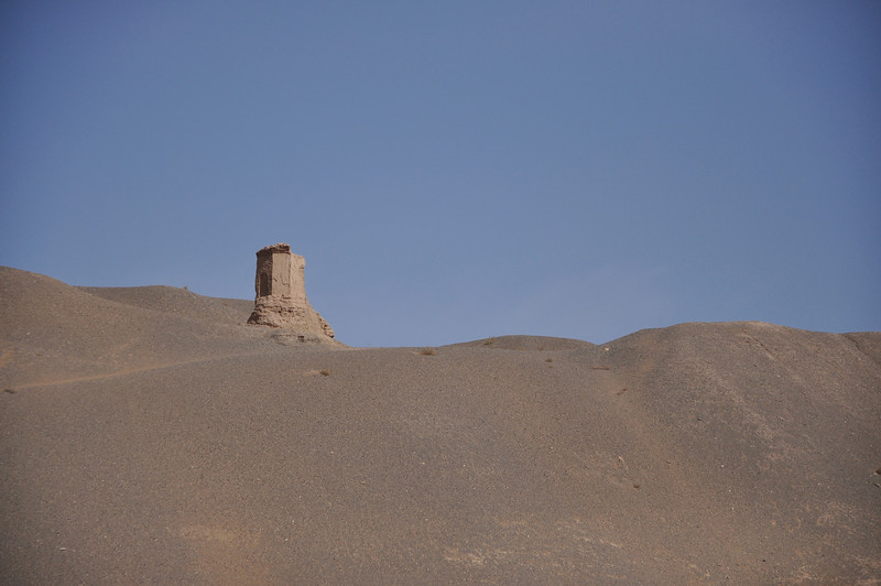 Here's the hilltop tower.  Watchtower?  Signal tower?  Both?
