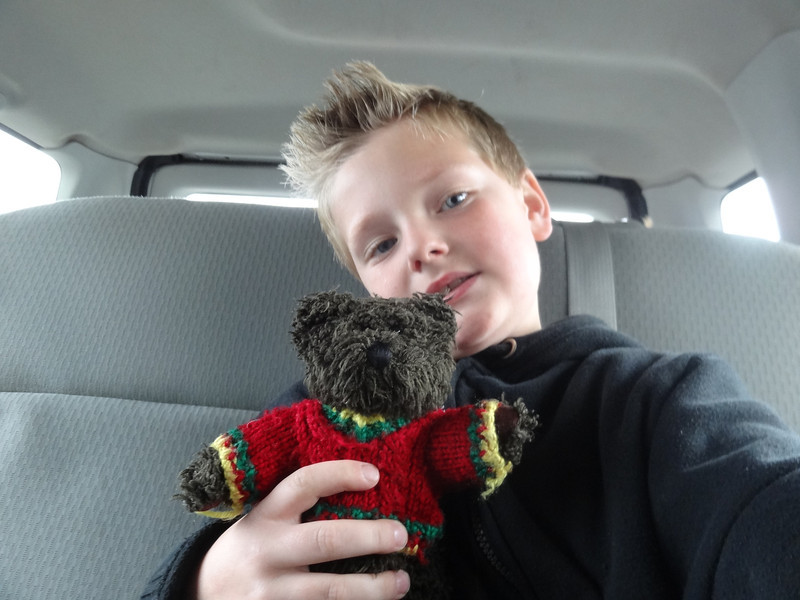 """""""Bingham"""", that small teddy bear is regularly taken on field trips by students that then report back to the class......"""