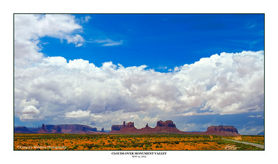 Waldron, Greg - Clouds Over Monument Valley