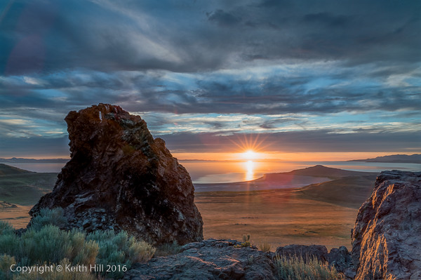 Keith Hill - Antelope Sunset-922