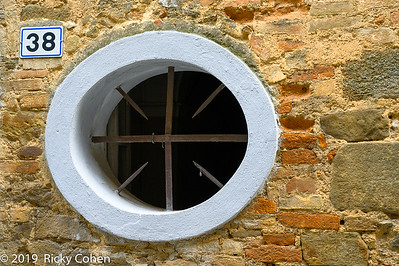 Montalcino Circular Window