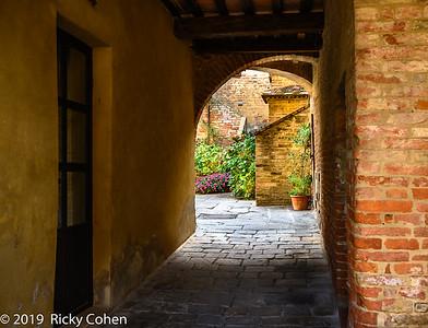 Buonconvento Courtyard