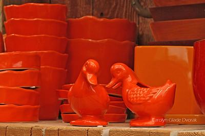 Carolyn _Dvorak-Orange ducks