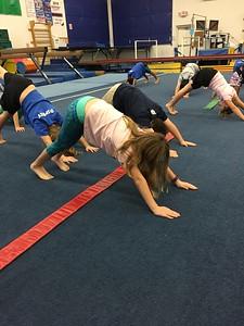 2nd Grade Field Trip to Dance & Gymnastics 2017
