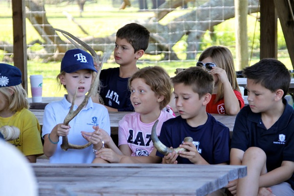 2nd Grade Trip to Giraffe Ranch