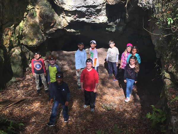 3rd Grade Field Trip to Hernando County Caves 2017