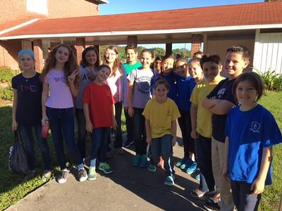 5th and 6th Grade Service Day 10/18/16