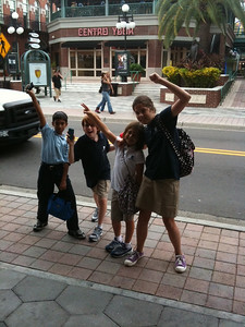 Mighty 5th graders at Centro Ybor