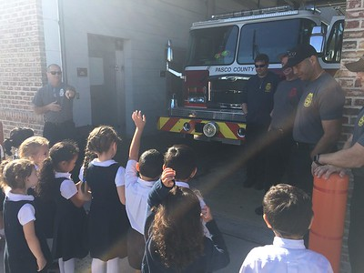 JK Field Trip to the Fire Department