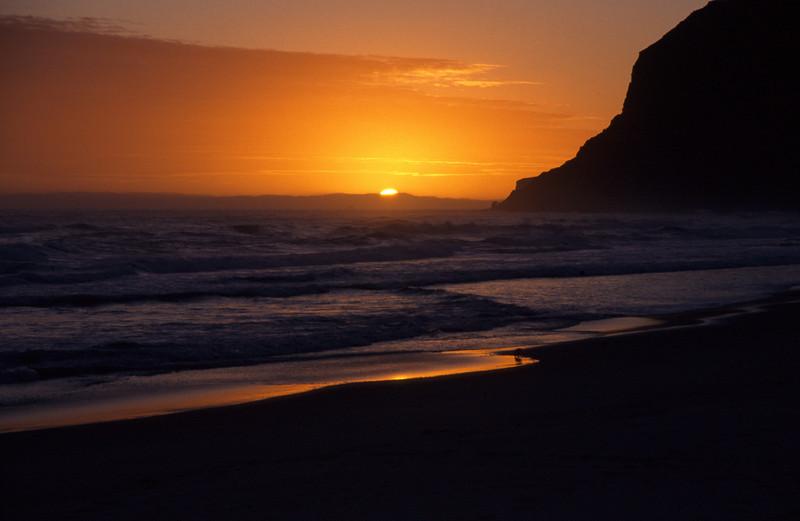 Sunset on Boulder Beach