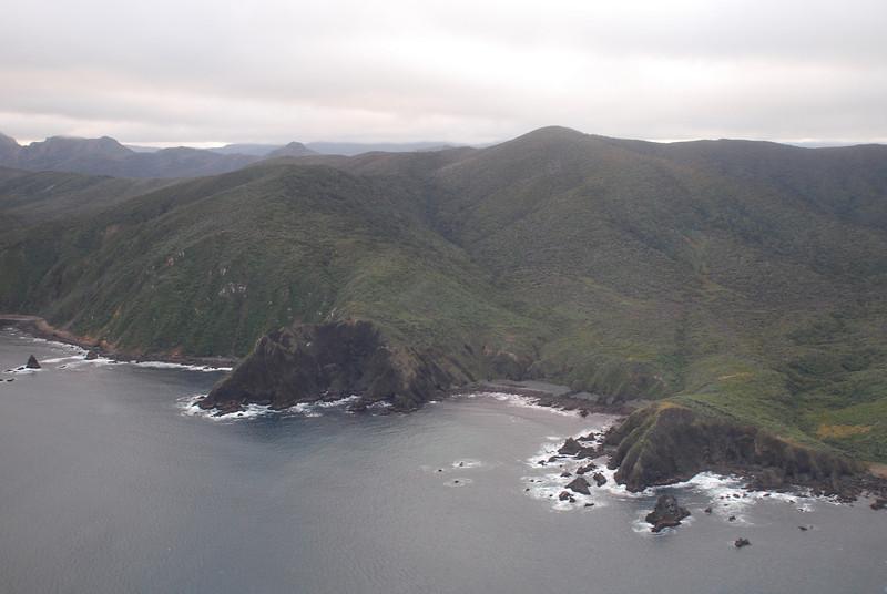 Stewart Island coastline