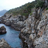Sealers Bay coastline