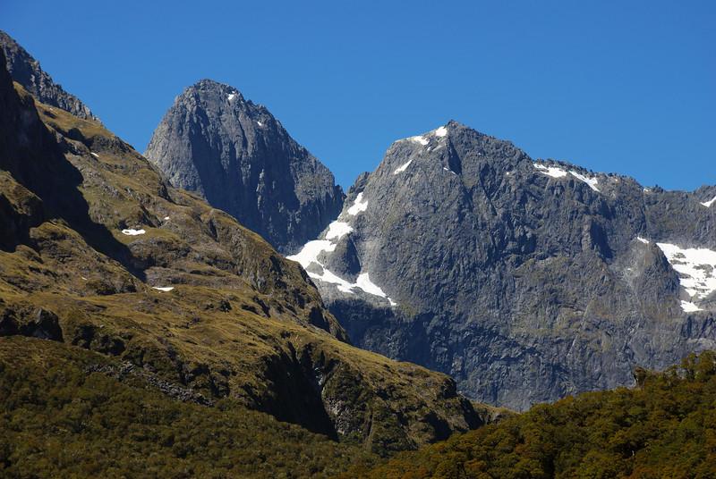 Sabre Peak and Marian Peak