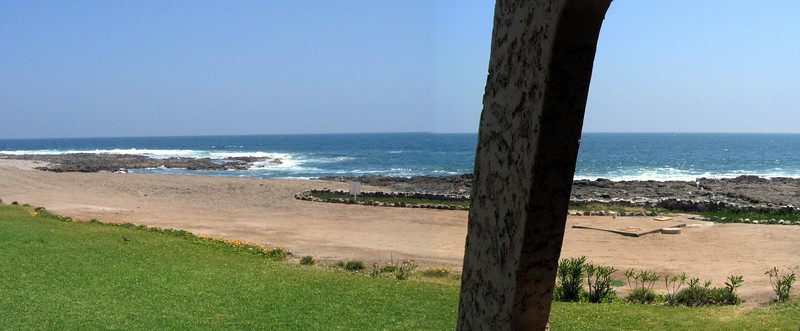 View from my hotel room in Arica
