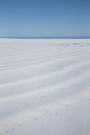 Undulations on the remnants of the Larsen B ice shelf