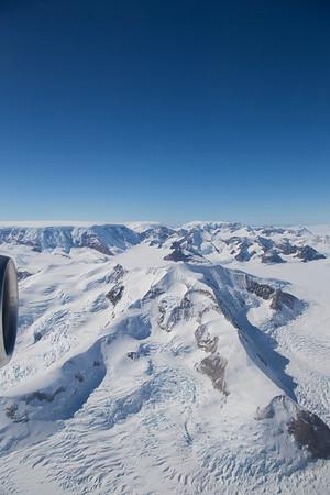 Mount Quandary, along Hektoria Glacier