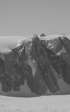 The Pip Cliffs; along Flask Glacier