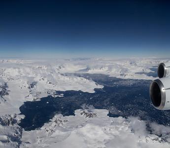 Charlotte Bay and Recess Cove on the Antarctic Peninsula